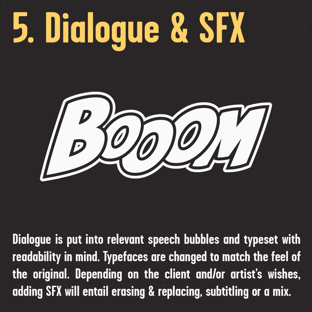 Dialogue and Sound Effects
