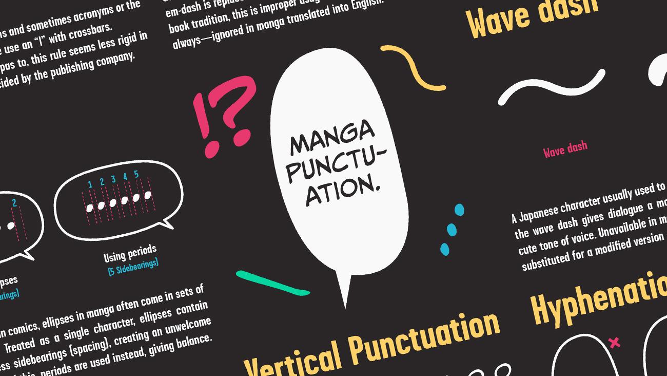Manga Punctuation